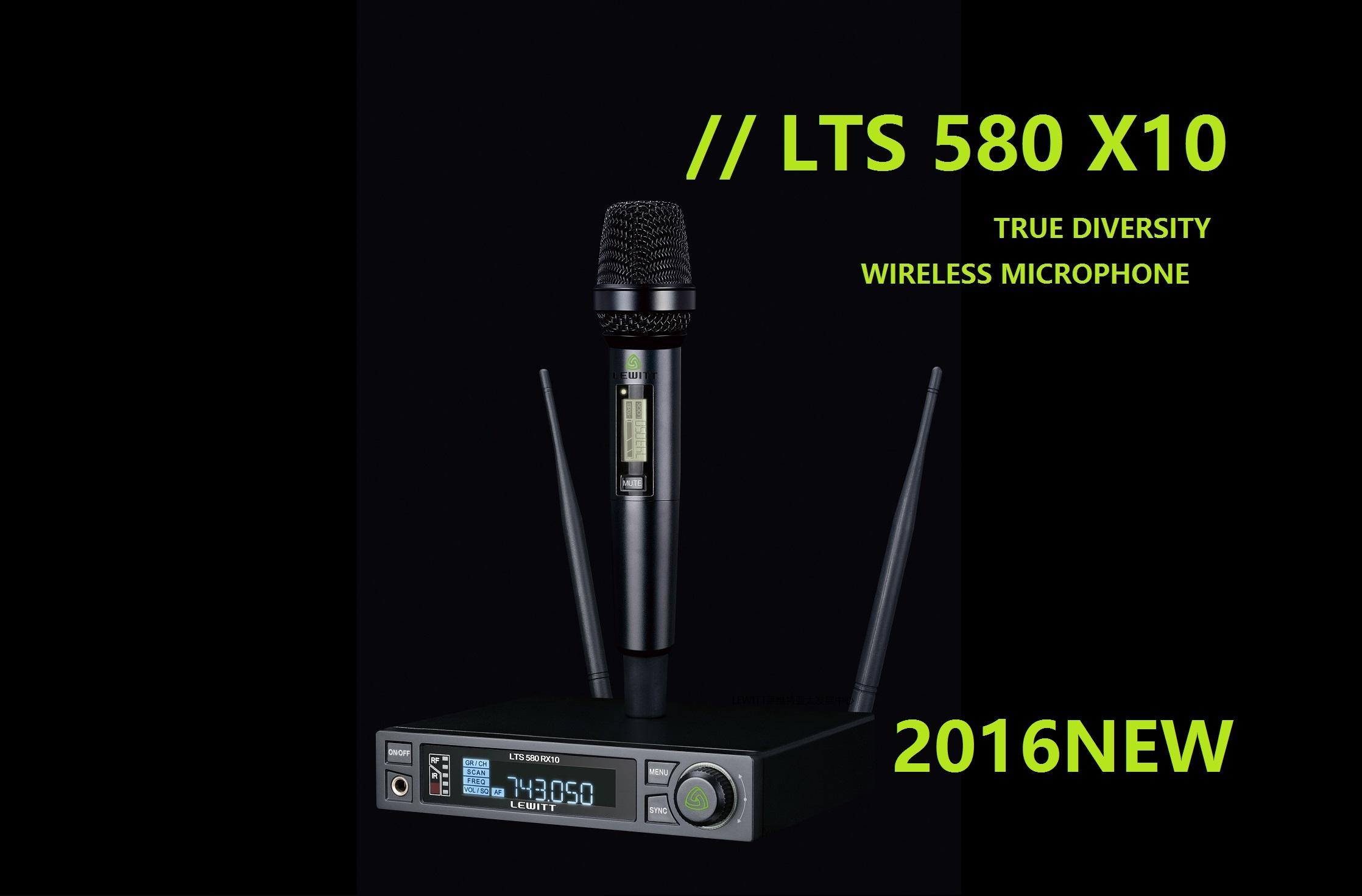 LEWITT莱维特 LTS 580 X10 专业演出无线话筒